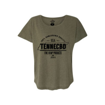 TenneCBD Womens T-Shirt
